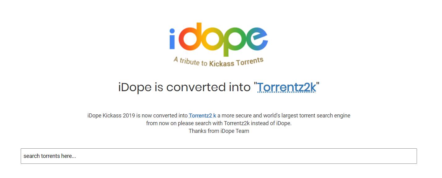iDope - Torrentz2k