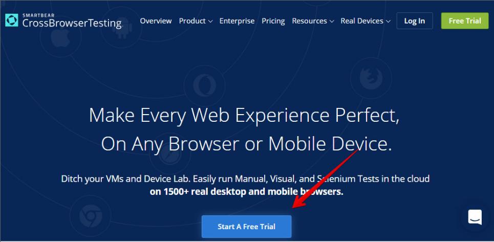 Crossbrowsertesting - Safari Per Windows