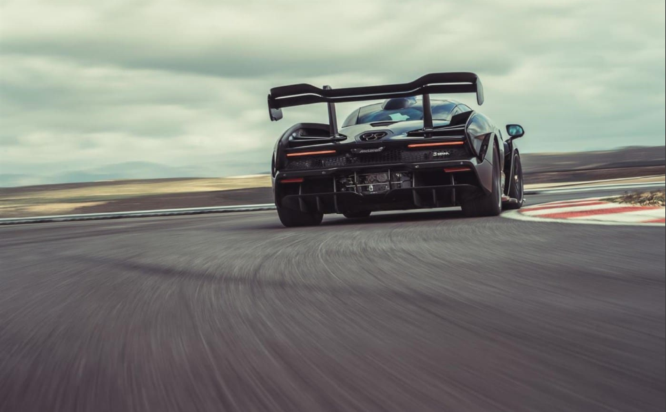 McLaren Senna Track Day