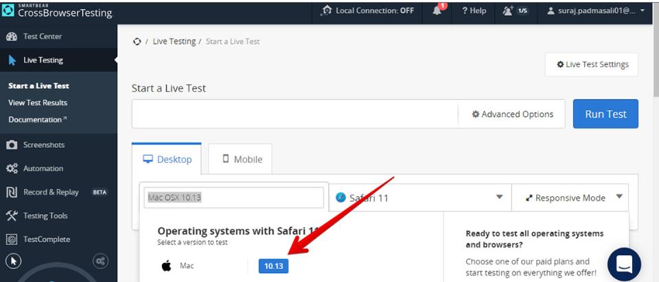 browser Safari 11